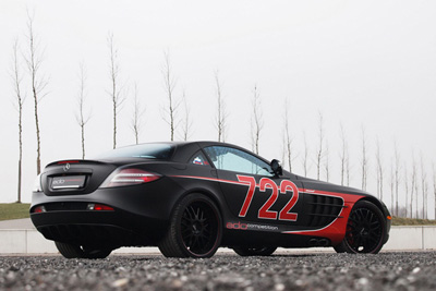 Mercedes-Benz McLaren SLR Black Arrow