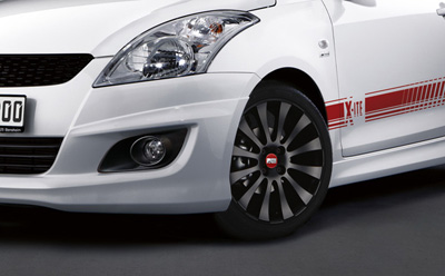 Suzuki Swift представили пакет тюнинга X-ITE 2011